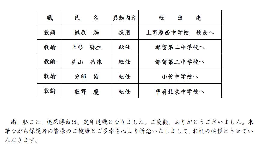 埼玉 県 教員 異動 2020